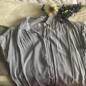 Button down shirt dress!
